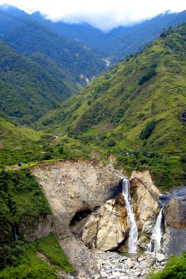 Cataratas en Baños