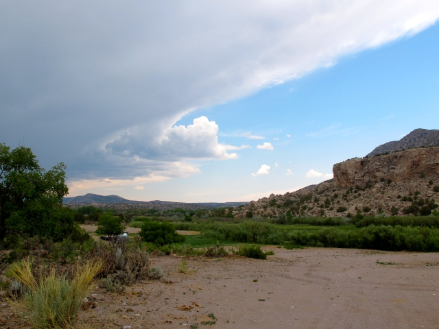 I loved the shape of these clouds so pulled off on the side of the road to capture it, the coming storm.