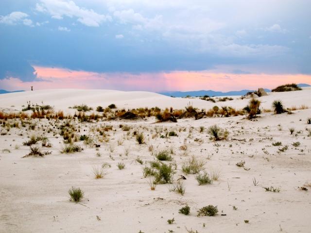 White Sands Sun Set