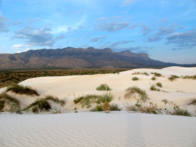 The dunes south of Guadalupe National Park. If you are looking for the middle of nowhere, I can show you the way.
