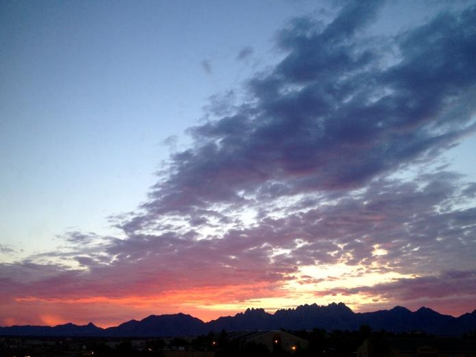 Las Cruces sunrise