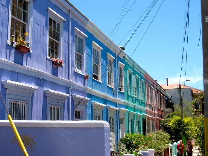 Colorful house in Valparaíso