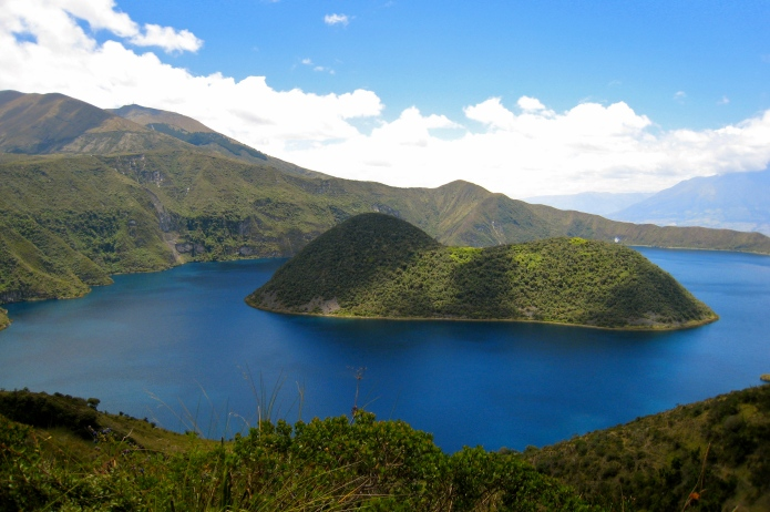 Cuicocha Caldera and Lake