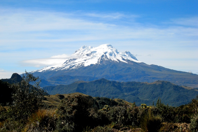 Cotapaxi -- the second-highest summit in Ecuador and, what some consider, the tallest active volcano in the world